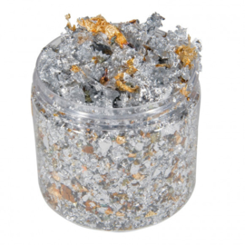 Cosmic Shimmer - Gilding Flakes 200 ml  - Silver dream