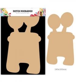 460.440.025 - Dutch DooBaDoo - MDF Art Monster 5