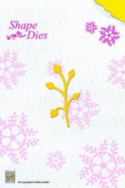 Nellie Snellen Shape Dies - Enkele tak bladeren  SD 009