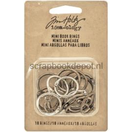 Tim Holtz - Idea-ology / Mini Book Rings