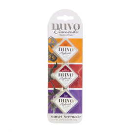 Nuvo - Diamonds Hybrid Ink Pads - Sunset serenade  - 82N