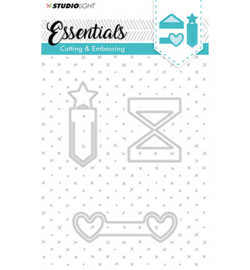 Studio Light - Embossing Die Cut Stencil Essentials nr.125