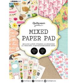 Studio Light - Mixed Paper Pad Pattern paper Essentials nr.6