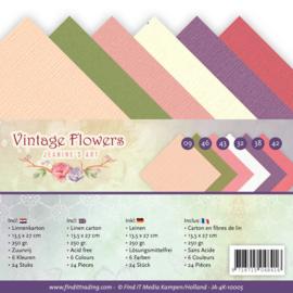 Linnenpakket - 4K - Jeanines Art - Vintage Flowers