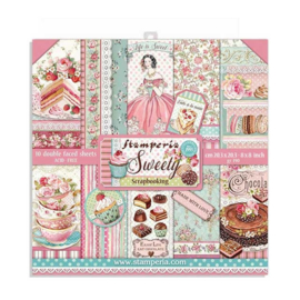 Stamperia - Sweety - Paperpad  20,3 x 20,3 cm