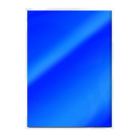 Tonic Studios Spiegelkarton A4  - Glans - Imperial Blue