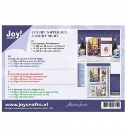 Joy! Crafts Luxe Stansset Avondsneeuw  6012/0504