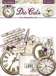 Stamperia -  Romantic Journal - Die Cuts