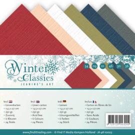 Linnenpakket - 4K - Jeanines Art - Winter Classics