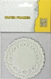 Paper Frames Rond 12 stuks 8,9 cm