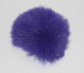 Pom-Pon Fluffy Paars