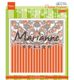 Marianne D Embossing folder + Die -  Anja's ornamental border - DF3443