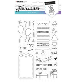 Studio Light - Clear Stamps - Favourites nr. 484