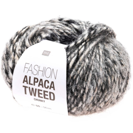 Rico Fashion Alpaca Tweed Chunky  - 383274.006  - Grau