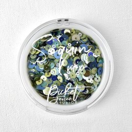 Picket Fence Studios - Blueberry Mojito Mix Sequin Mix - SQ-105