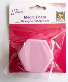 Nellie Snellen - Mixed Media - Magic Foam Hexagon