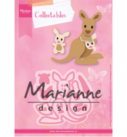 Marianne Design Collectable - Eline's kangaroo & baby  - COL1446