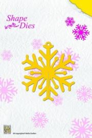 Nellie Snellen Shape Dies - Sneeuwvlok SD 006