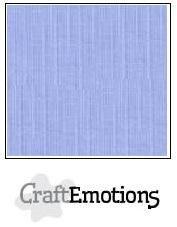 CraftEmotions linnenkarton 10 vel  Licht jeans  30,5x30,5cm