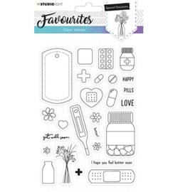 Studio Light - Clear Stamps - Favourites nr. 486