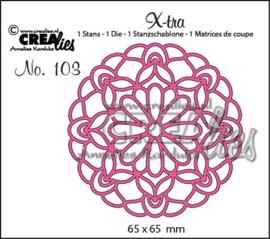 Crealies Dies X-tra no. 103 - Mandala C