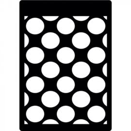 Creative Expressions - Mini Stencil - Polka.