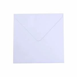 Florence - Enveloppen 16x16cm Wit - 5 stuks