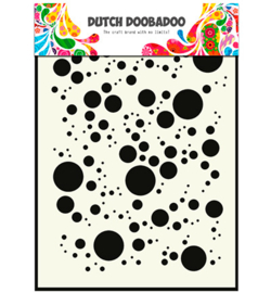 Dutch Doobadoo Mask Art -  Bubbles  -  A5 -  470.715.017