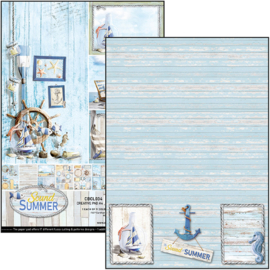 Ciao Bella - Sound of Summer - Dubbelzijdig Creative Pad - A4 - CBCL034