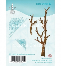 Doodle Stamp 55.1260  Branches & spider web