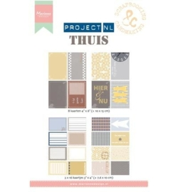 Marianne Design Project NL Card Set Thuis PL2501