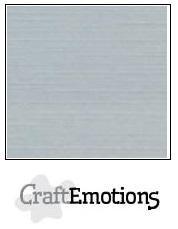 CraftEmotions linnenkarton 10 vel  Grijs  30,5x30,5cm