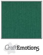CraftEmotions Linnenkarton A4 Formaat 10 vel - Kerstgroen