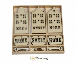 Houten Ornamenten Home Sweet Home 811500/0215