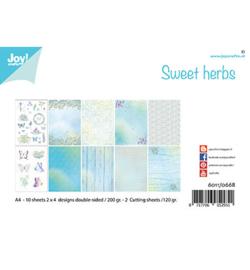 Joy!Crafts - Papierset - Sweet herbs-6011/0668