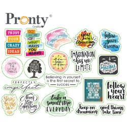 Pronty - Embellishments Quotes print