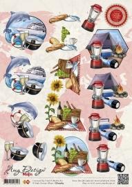 Amy Design A4 Knipvel Maps CD10364