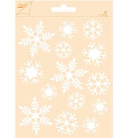 Joy!Crafts - Poly Besa Stencil  6002/0628  -  Sneeuwvlokken