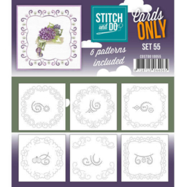 Stitch and Do - Cards Only Stitch  - 55