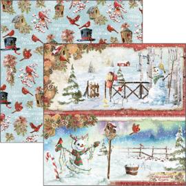 Ciao Bella - Sneeuwpoppen - 30,5 X 30,5 CM - CBSS128