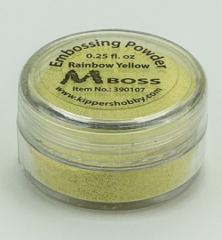 Embossing Powder Rainbow Yellow 390107