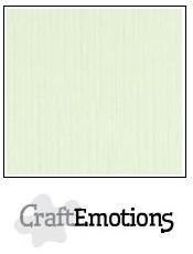 CraftEmotions Linnenkarton A4 Formaat 10 vel - Lichtgroen