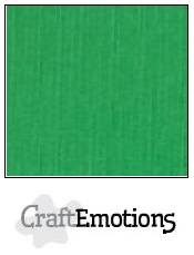 CraftEmotions Linnenkarton 27 x 13,5 cm Grasgroen 001235/1030