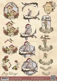 Amy Design Vintage Christmas Collection A4 CD10392