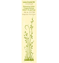 LeCreaDesign Embossing Folder 35.1758 Border Grass Long
