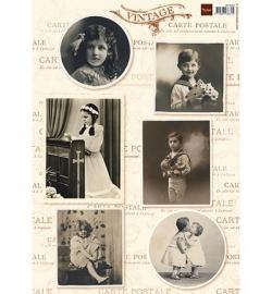 Marianne Design Vintage Children 1 VK9533
