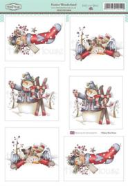 The Hobby House Stansvel - HHDMD008 - Festive Wonderland