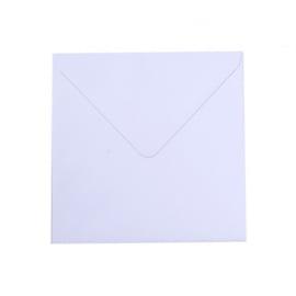 Florence - Enveloppen 16x16cm Wit  - 25 stuks