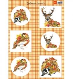 VK9545 - Algemeen - Autumn Animals - Deer