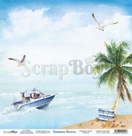 ScrapBoys Summer Breeze paper sheet DZ SUBR-03